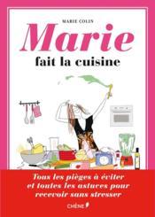 Marie fait la cuisine - Couverture - Format classique
