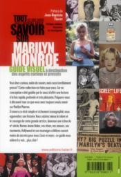 Tout ce que vous avez toujours voulu savoir sur Marilyn Monroe - 4ème de couverture - Format classique