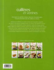 Cuillères et verrines - 4ème de couverture - Format classique