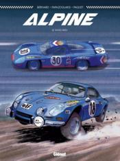 Alpine ; le sang bleu - Couverture - Format classique