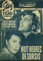 Stars Et Films - N°22 - Huit Heures De Sursis - Couverture - Format classique