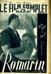 Le Film Complet Du Mardi N° 1937 - 16e Annee - Romarin - Couverture - Format classique