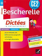 Bescherelle ; dictées ; CE2 - Couverture - Format classique
