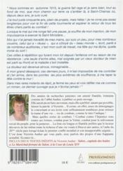Les combats d'un abbé; textes inédits de l'abbé Victorin Audier - 4ème de couverture - Format classique