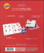 50 origamis pour faire la fête ; pâques, anniversaires, noël... - 4ème de couverture - Format classique