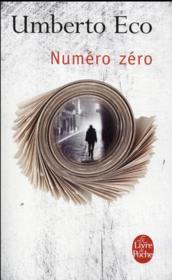 Numéro zéro - Couverture - Format classique