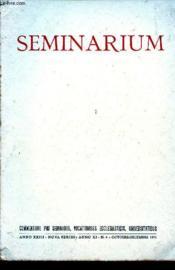 Seminarium : N°4 : Oct/dec 71 - Couverture - Format classique