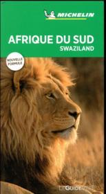 Guide vert afrique du sud - Couverture - Format classique