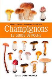 Les champignons ; le guide de poche - Couverture - Format classique