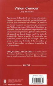Coup de foudre t.1 ; vision d'amour - 4ème de couverture - Format classique