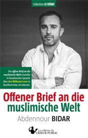 Offener Brief an die muslimische Welt - Couverture - Format classique