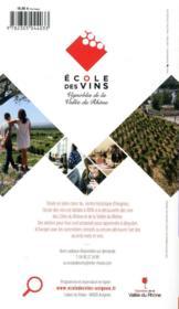 GUIDE PETIT FUTE ; THEMATIQUES ; guide de l'oenotourisme en France ; les 100 plus belles routes des vins en France (édition 2020/2021) - 4ème de couverture - Format classique