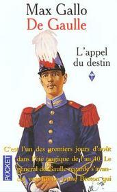 De Gaulle T.1 ; l'appel du destin - Intérieur - Format classique