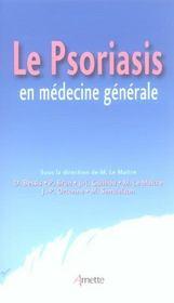Le psoriasis en medecine generale - Intérieur - Format classique