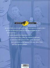 Intox t.1 ; le quatrième pouvoir - 4ème de couverture - Format classique