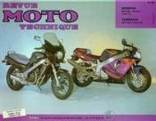 Rmt 92.2 Honda Ntv650(88/94)/Yamaha Yzf 750r(93/94) - Couverture - Format classique
