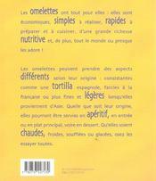 Des omelettes et des tortillas - 4ème de couverture - Format classique