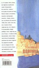 La Seine Etait Rouge - 4ème de couverture - Format classique