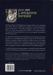 L'Amazone boréale - 4ème de couverture - Format classique