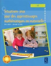 Situations-jeux pour les apprentissages mathématiques en maternelle ; grande section - Couverture - Format classique