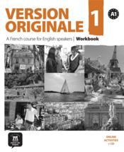 VERSION ORIGINALE T.1 ; FLE ; wordkbook ; A1 (édition 2010) - Couverture - Format classique