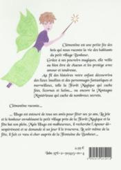 La petite fée Clémentine t.2 ; Hugo et la fontaine du bonheur - 4ème de couverture - Format classique