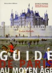 Guide de Paris au Moyen Age - Couverture - Format classique