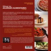 Déjouer les allergies alimentaires (2e édition) - 4ème de couverture - Format classique