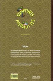 Comptines polyglottes - 4ème de couverture - Format classique