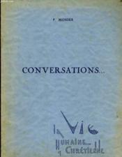 Conversations - Couverture - Format classique