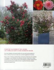 Camélias ; choisir et cultiver les meilleures variétés - 4ème de couverture - Format classique