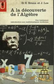 A La Decouverte De L'Algebre - Couverture - Format classique