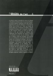 Circulations artistiques dans la couronne d aragon - 4ème de couverture - Format classique