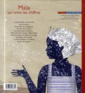 Maïa qui aime les chiffres - 4ème de couverture - Format classique