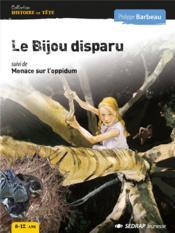 Bijou disparu - roman - Couverture - Format classique