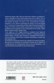 La Suggia ; une vie pour la musique - 4ème de couverture - Format classique