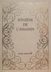 Hygiène de l'assassin - Couverture - Format classique