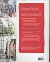 Croquer la ville ; techniques et inspirations d'urban sketchers - 4ème de couverture - Format classique