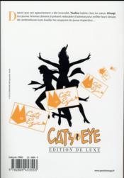 Cat's Eye T.3 - 4ème de couverture - Format classique
