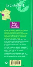 Le Guide Vert T.371 - 4ème de couverture - Format classique