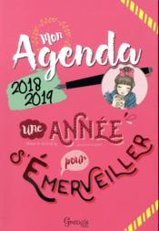 Mon agenda 2018-2019 - Couverture - Format classique