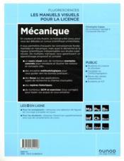 Mécanique - 4ème de couverture - Format classique