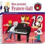Livre musical ; mon premier France Gall - Couverture - Format classique