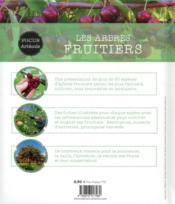Les arbres fruitiers - 4ème de couverture - Format classique