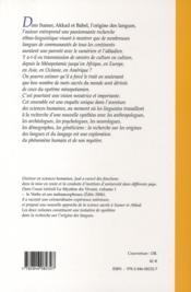 Le mystère du vivant t.2 - 4ème de couverture - Format classique