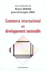 Commerce International Et Developpement Soutenable - Intérieur - Format classique