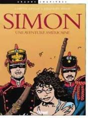 Simon, une aventure americaine - Couverture - Format classique