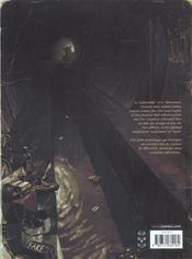 Le ventre du minotaure - 4ème de couverture - Format classique