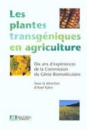 Plante Transgen En Agricul - Intérieur - Format classique