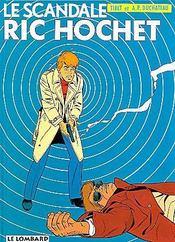 Ric Hochet T.33 ; le scandale Ric Hochet - Intérieur - Format classique